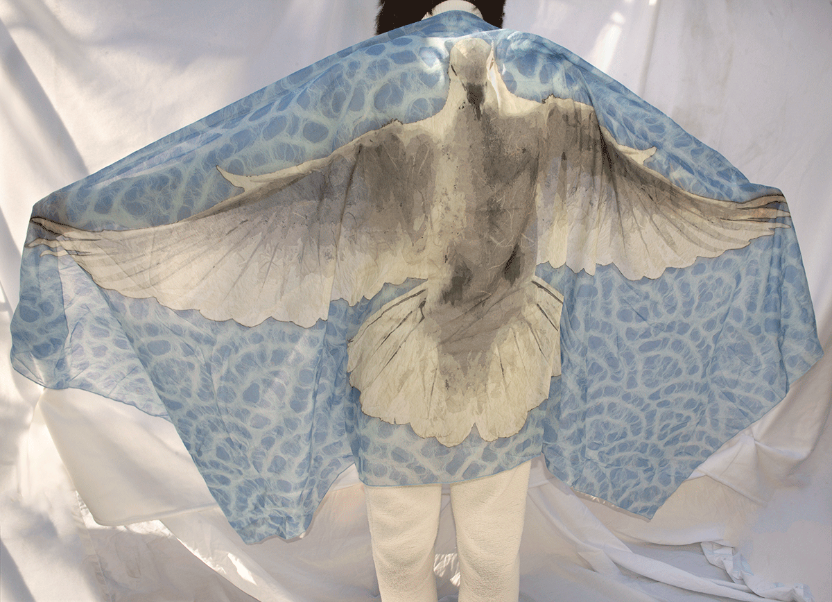 Peace Dove Shawl