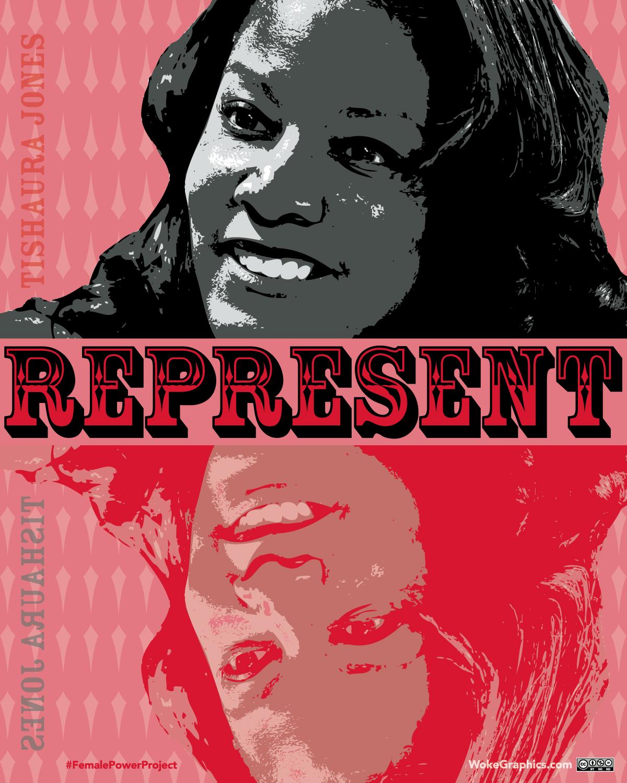 Tishaura Jones, Female Power Project, Woke Graphics