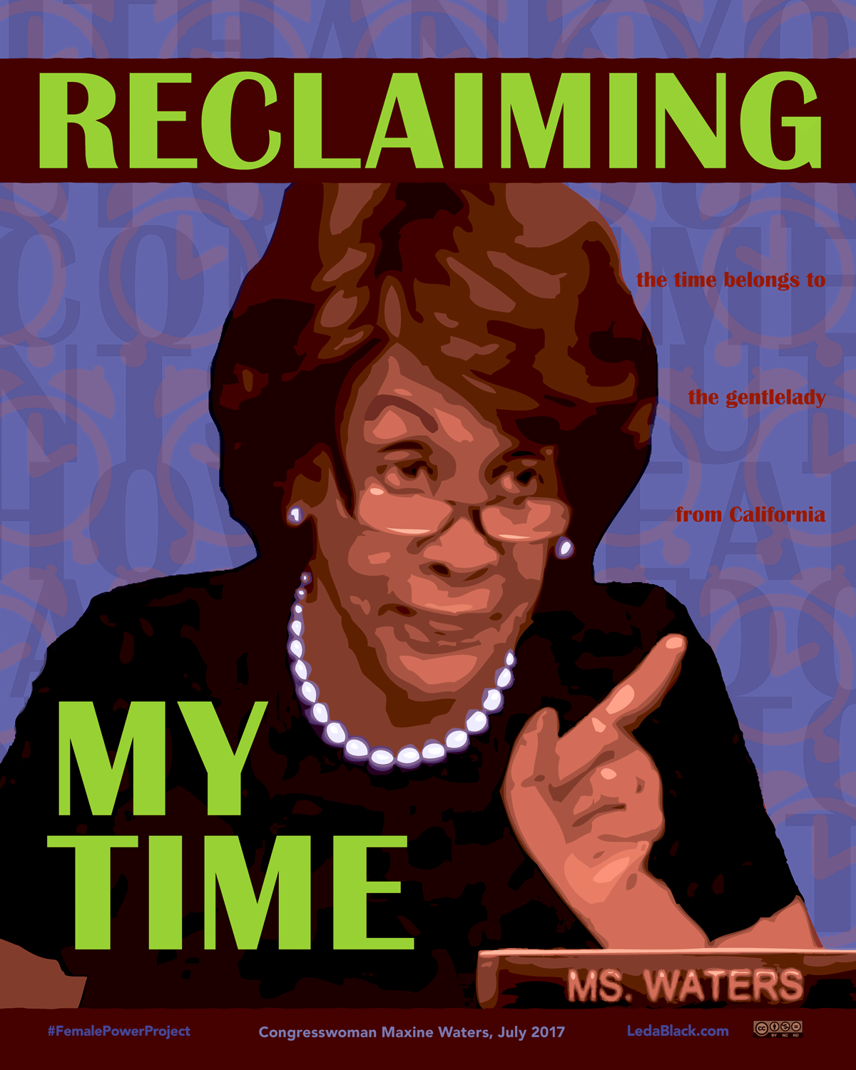 Reclaiming my time reclaiming my time